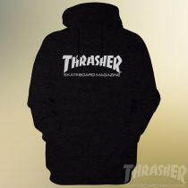 Thrasher Skateboard Magazine Hoodie Black