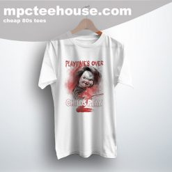 Playtime Over Childs Play 80s Movie T Shirt