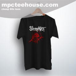 Sleep Not Freddy Krueger Parody 80s Movie T Shirt