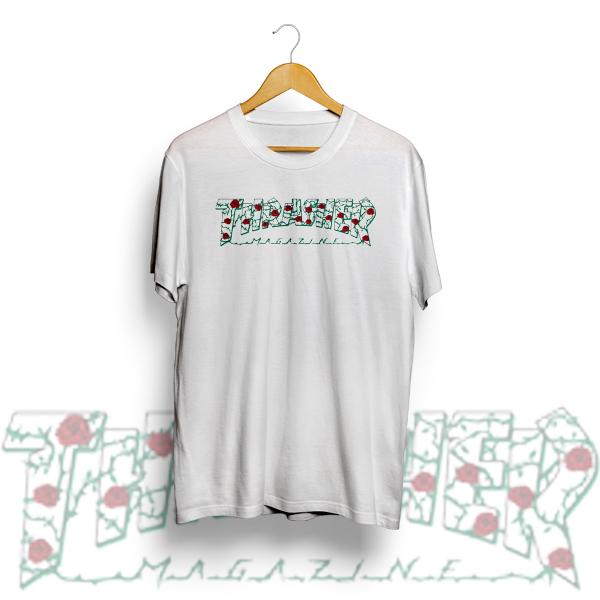 ec7ef465fec4 Thrasher Roses. mpcteehouse tshirt size chart