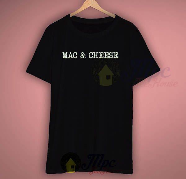 Mac And Cheese Cool Graphic T Shirt Design Mpcteehouse