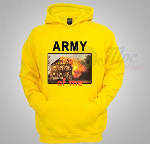 Army Of Me Cool Unisex Custom Hoodie