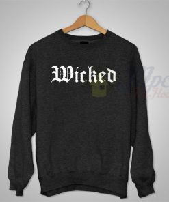 Cheap Wicked Unisex Sweatshirt For Men and Women