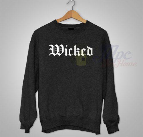 Cheap Wicked Unisex Sweatshirt For Men and Women