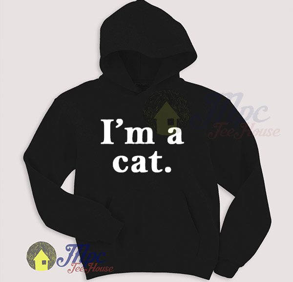 I'm A Cat Cute Hoodie For Women