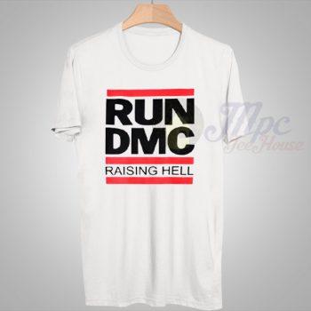Run DMC Raising Hell Vintage Hip Hop T Shirt