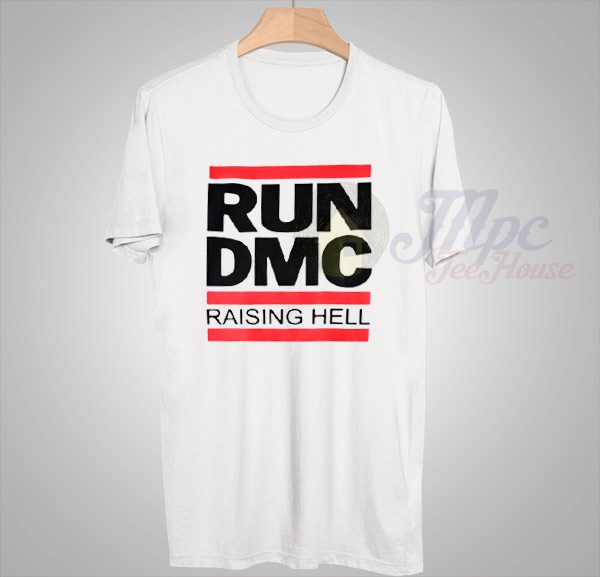 Run DMC Raising Hell Vintage Hip Hop T Shirt