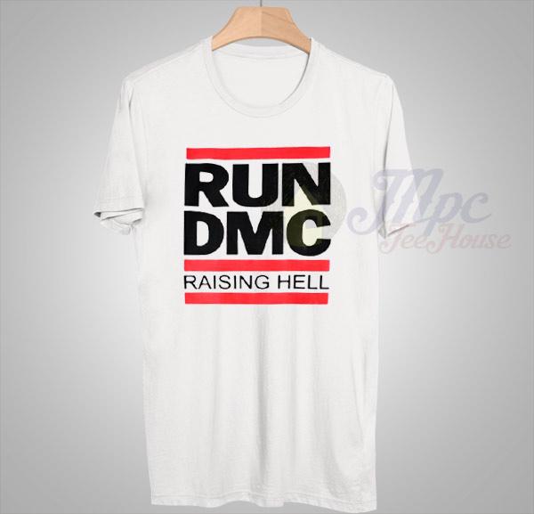 run dmc raising hell t shirt