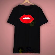 Sexy Lips Mouth T Shirt Size S-2XL For Women