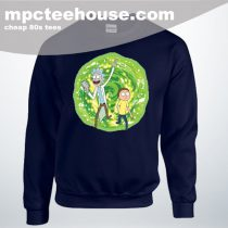 Cheap Rick Morty Eye Hole Man Unisex Sweatshirt