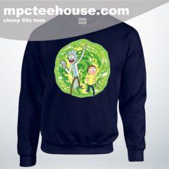 Cheap Rick Morty Eye Hole Man Unisex Sweatshirt