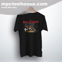 Southpark Burn It Down Cute Graphic T Shirt