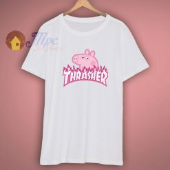 Peppa Pig X Trasher Magazine T Shirt