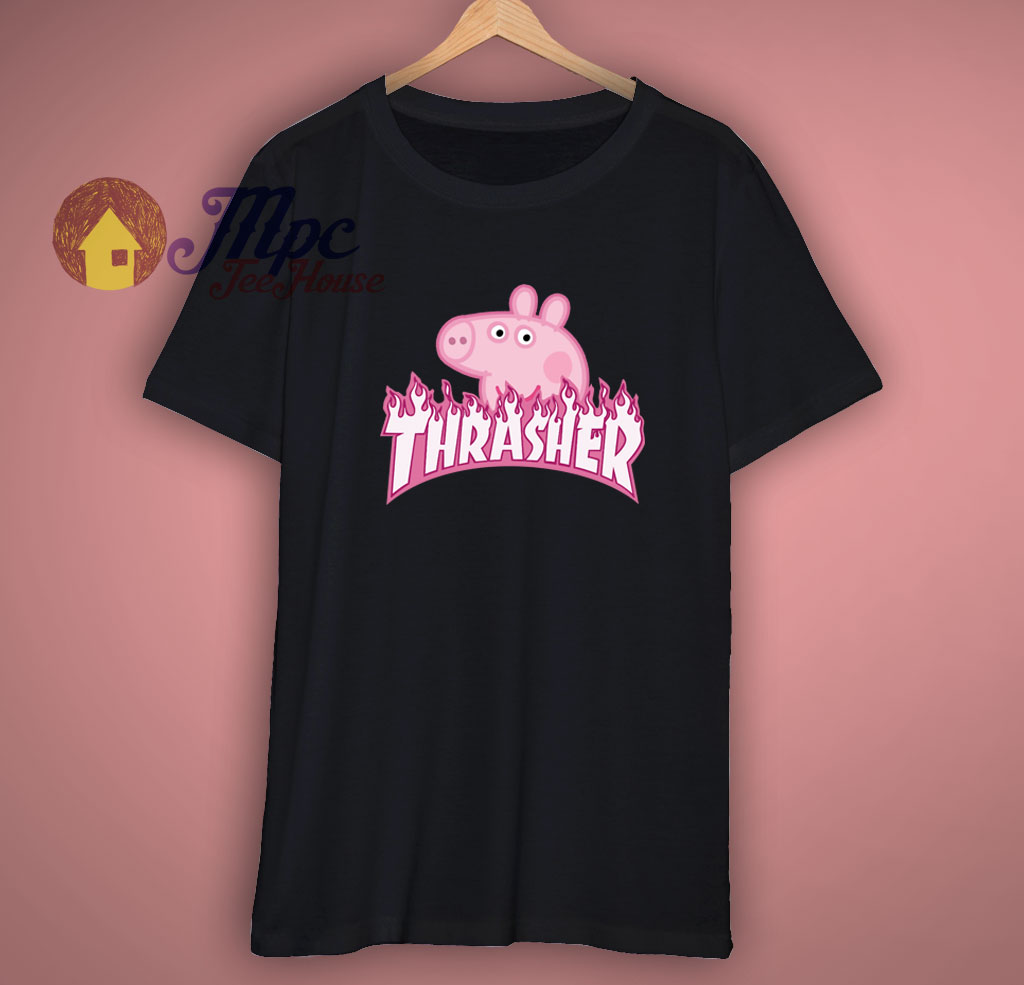 Peppa Pig X Trasher Magazine T Shirt For Men S Women S Mpcteehouse