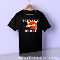 Teenage Rebel Smoke Grunge T Shirt