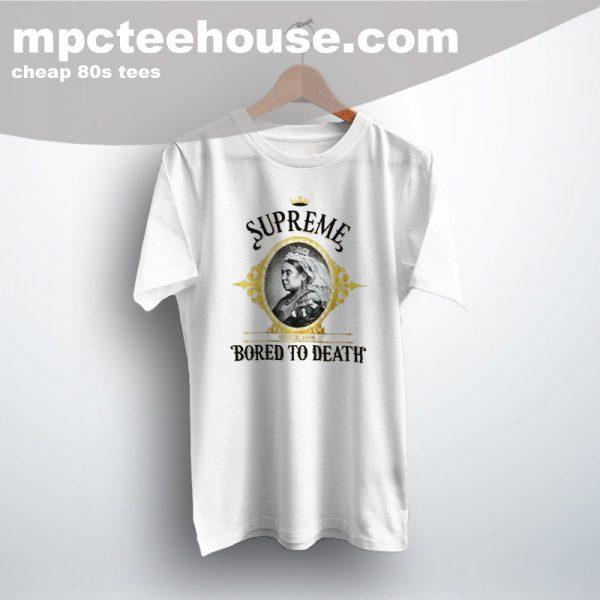 Vintage Supreme 1994 Bored To Death 90s T Shirt