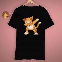 Aesthetic Look Dabbing Cat Dab Animal Hype T Shirt
