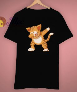 Aesthetic Look Dabbing Cat Dab Animal Hype T Shirt