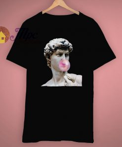 Aesthetics Bubble Gum Statue Trendy T Shirt