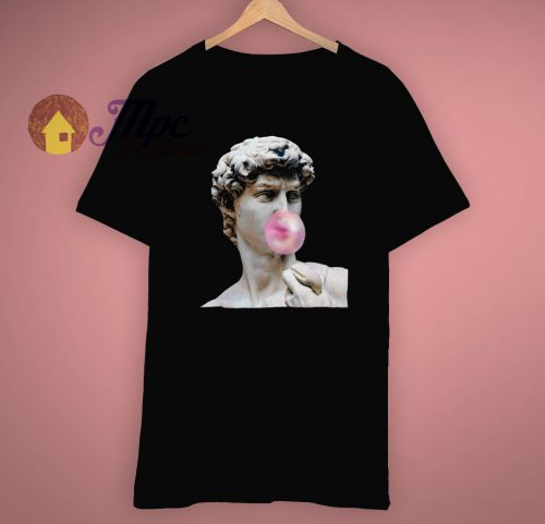 Aesthetics Bubble Gum Statue Trendy T Shirt