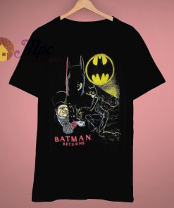 Altered Ready Vintage Movie Batman Return T Shirt