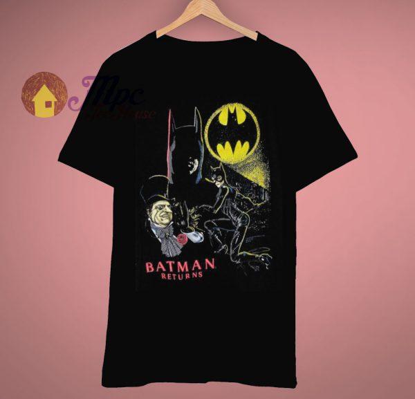 Altered Ready Vintage Movie Batman Return T Shirt