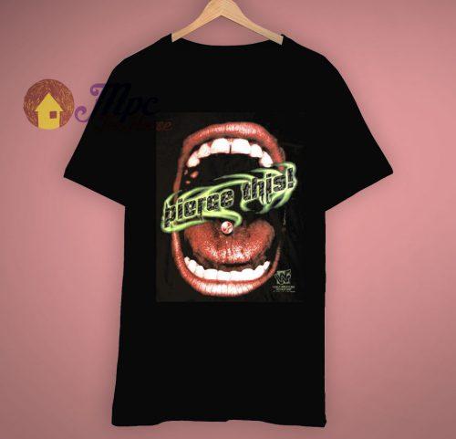 Black Tag Team Vintage WWF WWE Head Bangers T Shirt