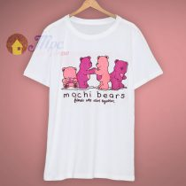 Burn Out Mochi Bears 1980s Retro T Shirt