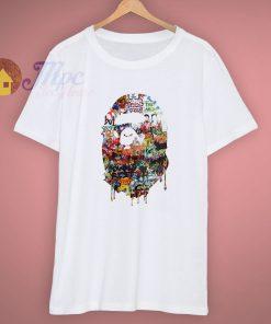 04ccde71022 Cheap Pop Culture Graffiti Bape Custom T Shirt