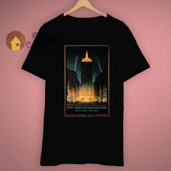 Classic New York Central Building A Retro Poster T Shirt