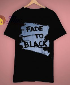 Cyber Punk Samurai Ninja Style Fade To Black T Shirt