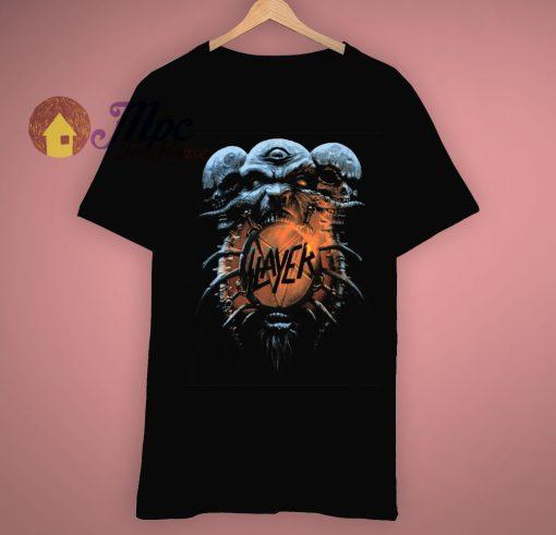 Death Loves Final Embrace Slayer Band 1994 Vintage T Shirt