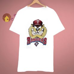 Devil Tasmanian Baseball Ranger x Looney Toon Vintage T Shirt