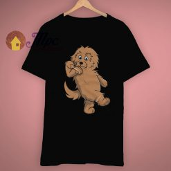 Goldendoodle Cute Hype Dance Dog T Shirt