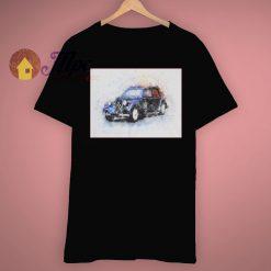Graphic Novelty Mans Short Vintage T Shirt