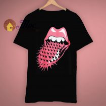 Lounge Spiked Voodoo Tongue Vintage Rolling Stones Concert T Shirt