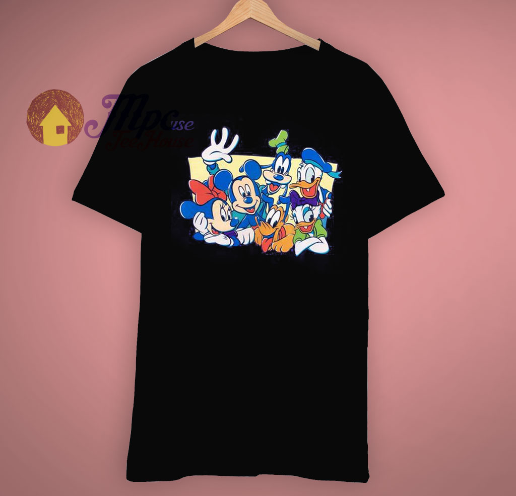 efc1324a0 Mickey Family Vintage Disney Mickey Mouse T Shirt - Mpcteehouse