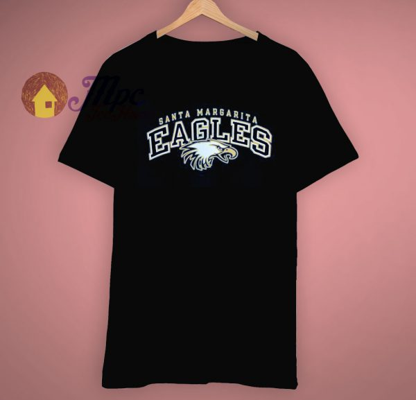 Santa Margarita Eagles Blue Champion T Shirt