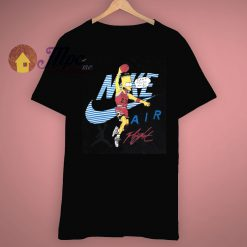 Simpsons Air Bart Michael Jordan Vintage T Shirt
