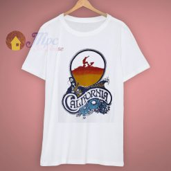 Surfing Surf Designer Hawaii Vintage Califonia T Shirt