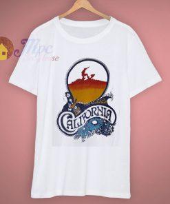 Surfing Surf Designer Hawaii Vintage Califonia T Shirt