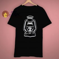 Unique Gas Lamp Vintage Printed T Shirt
