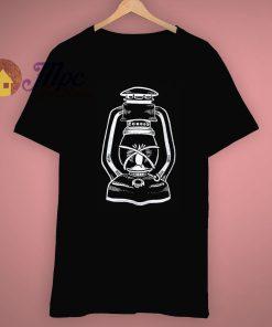 Unique Gas Lamp Vintage Printed T Shirt