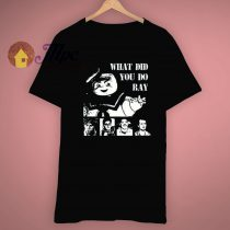 What Did You Do Ray Ghostbusters Tribute T Shirt