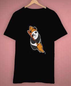 Funny Art Panda Witch Halloween T Shirt