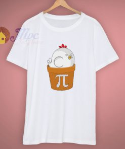 Math Gift Chicken Pot Pi Funny T Shirt