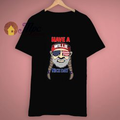 Me Time Have A Willie Nice Day Slogan T Shirt