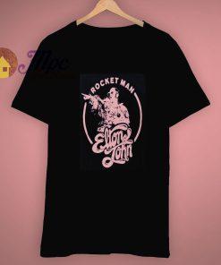 Rocket Man Elton Jhon Vintage T Shirt