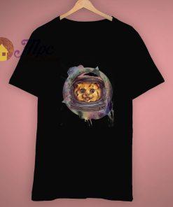 Space Astronaut Cat Unique Ideas Kitty T Shirt