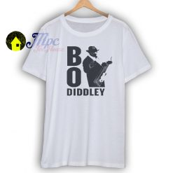 Bo Diddley Lightweight Vintage Style T Shirt